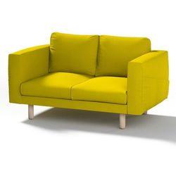 Dekoria Pokrowiec na sofę Norsborg 2-osobową, limonka, sofa Norsborg 2-osobowa, Etna
