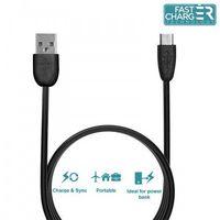 PURO Kabel połączeniowy micro USB - USB, 0.5 m (czarny)