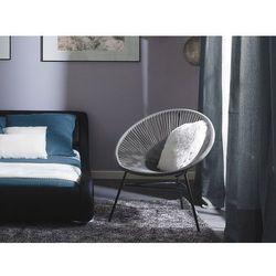 Krzesło ogrodowe jasnoszare ACAPULCO (7105278337810)