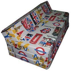 Sofa rozkładana - LONDON, produkt marki Natalia Sp. z o.o.