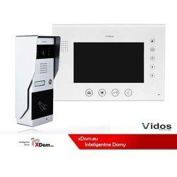 Vidos Zestaw wideodomofonu z czytnikiem kart rfid s50a_m670w2s