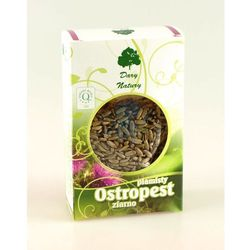 Ostropest plamisty nasiona 100g -  od producenta Dary natury