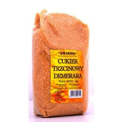 Cukier trzcinowy brązowy 1000g od producenta Smakosz