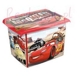 Pudełko 20l disney cars auta pojemnik na zabawki, marki Keeeper