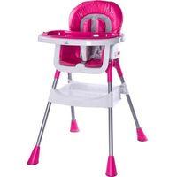 Krzesełko do karmienia CARETERO Pop różowy + DARMOWY TRANSPORT!