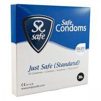 Prezerwatywy klasyczne - Safe Just Safe Condoms Standard 36 szt