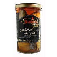 Manná gourmet Portugalskie sardynki w oliwie  słoik 250g