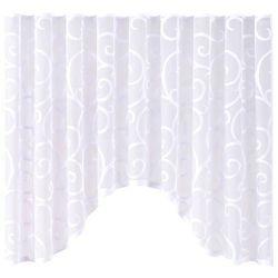 Firana Scroll 300 x 150 cm biała (5908262408082)