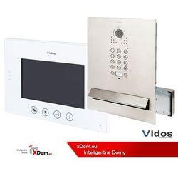 Zestaw wideodomofonu skrzynka na listy z szyfratorem s561d-skm m670w marki Vidos