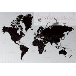 Współczesna Mapa Świata - Podział Polityczny - plakat - produkt z kategorii- Mapy