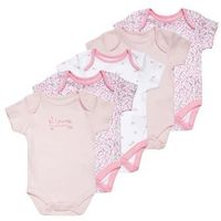 mothercare MUMMY & DADDY 5 PACK Body pink (5021468288125)