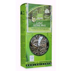 liść szałwii eko herbatka ekologiczna 25g, marki Dary natury