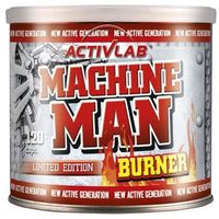 ACTIVLAB Machine Man Burner - 120caps. (5907368857107)