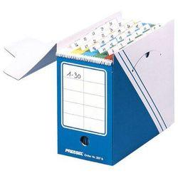 Pressel pudło archiwizacyjne na teczki zawieszane 335x160x285mm niebieski, 10 sztuk