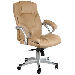 Corpocomfort Fotel ergonomiczny bx-5786 kremowy
