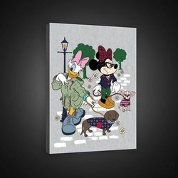 Consalnet Obraz disney: minnie i daisy z psami ppd1426
