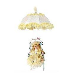 Lampa wisząca dziecięca 1xe27/60w w-lpqq 002 żółta od producenta Prezent