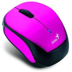 Genius Mysz Micro Traveler 9000R V2, 2.4 [GHz], optyczna, 3kl., 1 scroll, bezprzewodowa, ciemno-różowy, 1200DPI, uniwersalny