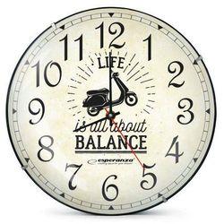 Esperanza zegar ścienny seattle (ehc018s) darmowy odbiór w 21 miastach! (5901299930168)
