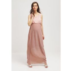 MAMALICIOUS MLKAYA Długa sukienka misty rose