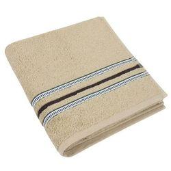 ręcznik kąpielowy zuzka beżowy, 70 x 140 cm marki Bellatex