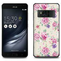 Etuo.pl Fantastic case - asus zenfone ar - etui na telefon fantastic case - pastelowe różyczki