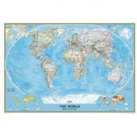 Świat - mapa polityczna Classic