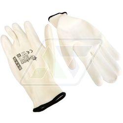Rękawice robocze Geko białe 10 G73543, kup u jednego z partnerów