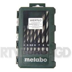Metabo 8 wierteł (626705000) - produkt w magazynie - szybka wysyłka! z kategorii Wiertła