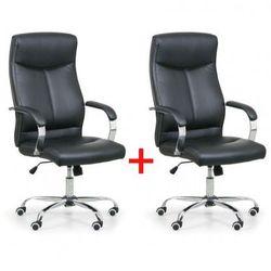 B2b partner Krzesło biurowe lugo 1+1 gratis, czarny