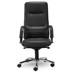 Nowy styl Fotel gabinetowy linea steel04 chrome - biurowy, krzesło obrotowe, biurowe