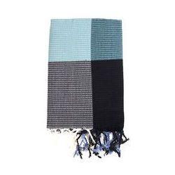House of rym Ręcznik wrapper's delight (niebieskie wzorki)