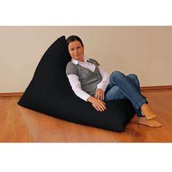 Dekoria  pufa-leżanka, czarny, 85x140x100 cm, living