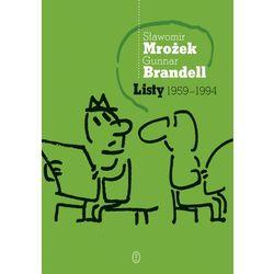 LISTY 1959-1994 MROŻEK-BRANDELL TW (ISBN 9788308048634)