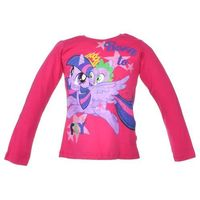 Bluzka z długim rękawem z postaciami z bajki my little pony - różowy ||kolorowy marki Licencja - inne