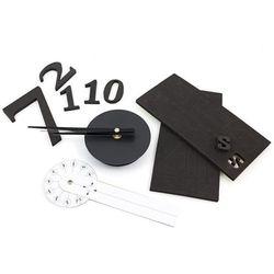 Apte Zegar ścienny nowoczesny 3d diy 50cm ścianę