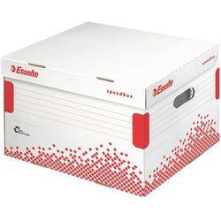 Pudło do archiwizacji speedbox rozmiar l biały - x07654 marki Esselte