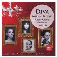 Diva: Soprano Festival - Montserrat Caballe, Maria Callas, Edita Gruberova (5099932713824)