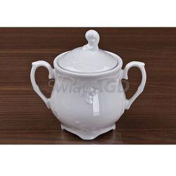 Ćmielów rococo - cukiernica 250 ml bez zdobień marki Ćmielów / rococo