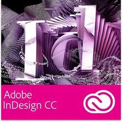 indesign cc pl dla użytkowników wcześniejszych wersji - subskrypcja wyprodukowany przez Adobe