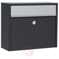 Skrzynka pocztowa LT150 czarna zamek Euro (5701701472732)