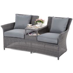 Sofa ogrodowa Milos Grey / Grey