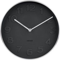 Karlsson zegar ścienny 5675, kolor czarny