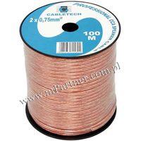 Mpartner Przewód głośnikowy kabel cca 2x0,75 mm 100m