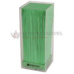 Blok na noże VERT transparentny z zieloną trawą Ambition