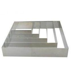 Rant cukierniczy ze stali kwadratowy 6 x 6 cm t-6866 marki De buyer
