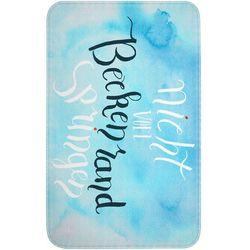 """Bonprix Dywaniki łazienkowe """"basen"""", pianka memory jasnoniebieski"""
