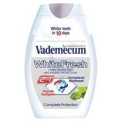 Vademecum White Fresh 2 w 1 pasta do zębów i płyn do płukania ust 75 ml (9000100498807)