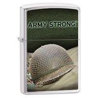 Zapalniczka ZIPPO US Army- Helmet, Brushed Chrome (Z28514), towar z kategorii: Zapalniczki