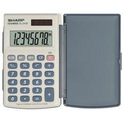 Kalkulator SHARP Handheld Box EL243S Srebrny, EL243S
